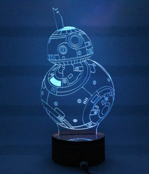 R2D2 Hologram Lamp