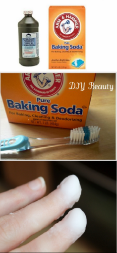 Baking Soda Nail Hack