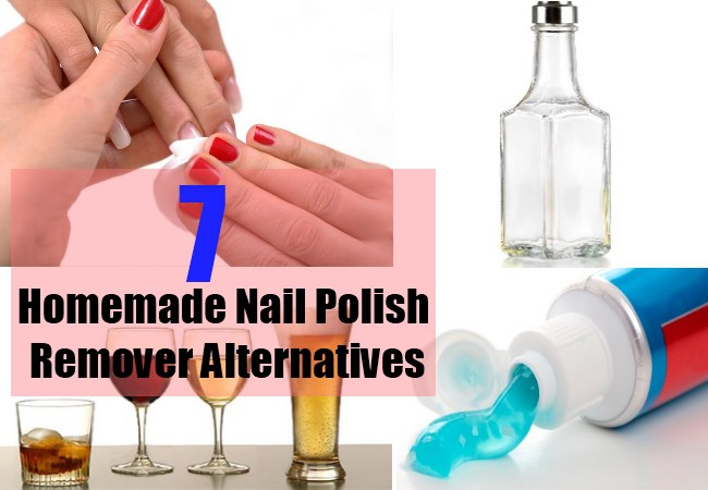 Nail Polish Remover Alternative Nail Hacks