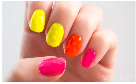 Pop Art Nail Hacks