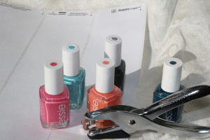 Swatch for Nail Polish Nail Hack