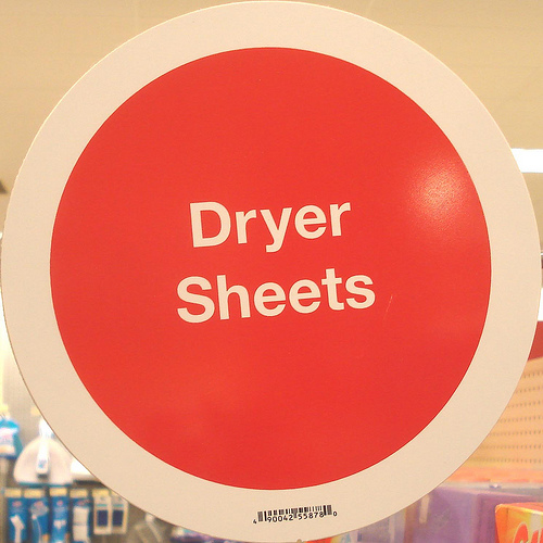 Dryer Sheets for Pet Hair Removal